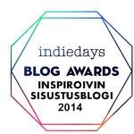 Inspiroivin sisustusblogi 2014